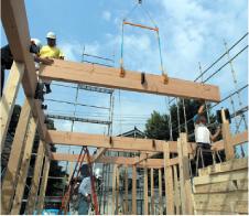 1.床・柱の施工